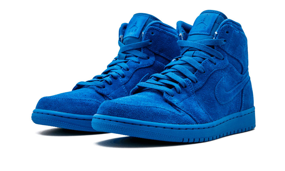 ab6c62f57ddd4b ... sweden air jordan 1 retro high blue suede team royal team royal 332550  3ac55 24cac