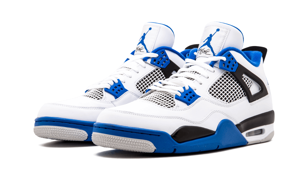 39a5f3a37ed5 cheap air jordan 4 motorsports white game royal black 308497 117