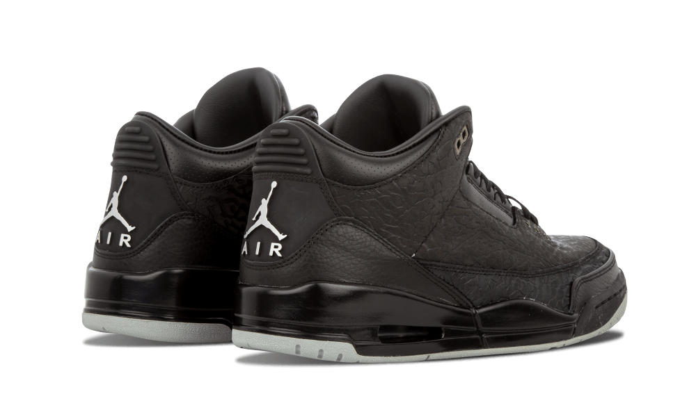 buy popular bc16c 556b0 Air Jordan Retro 3 Flip Black/Metallic Silver 315767-001 Cyber Monday