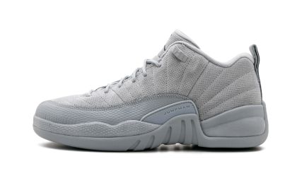 Air Jordan 12 Retro Low WMNS Wolf Grey/Armory Navy 308305-002 Cyber Monday