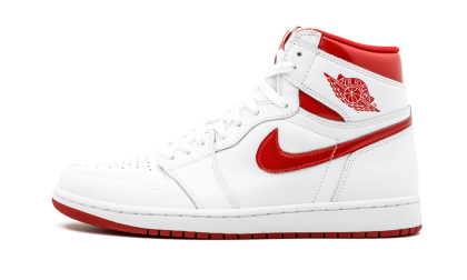 "Air Jordan 1 Retro High OG ""Metallic Red"" White/Varsity Red 555088-103"