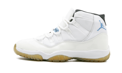 Air Jordan 11 Retro White/Columbia Blue-Black 136046-142 Cyber Monday