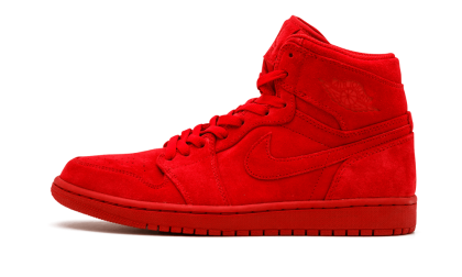 "Air Jordan 1 Retro High ""Red Suede"" Gym Red/Gym Red 332550-603"