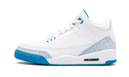 WMNS Air Jordan 3 Retro White/Harbor Blue 315296-142 Cyber Monday