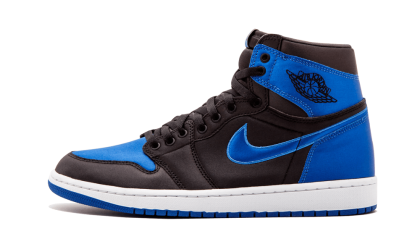 "Air Jordan 1 Retro High OG EP ""Satin"" Black/Varsity Royal-White 921193-007"