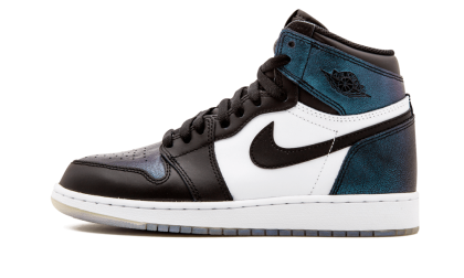 Air Jordan 1 Retro HI OG AS WMNS Black/Black-Metallic Silver 907959-015