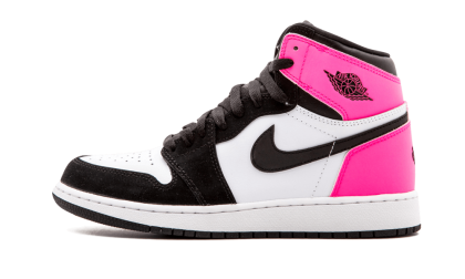 "Air Jordan 1 Retro High OG WMNS ""Valentines Day"" Black/Black-Hyper Pink-White 881426-009"