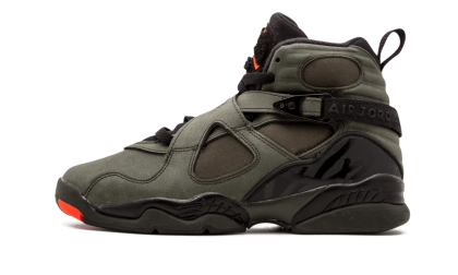 "Air Jordan 8 Retro WMNS ""Take Flight"" Sequoia/Max Orange-Black 305368-305"