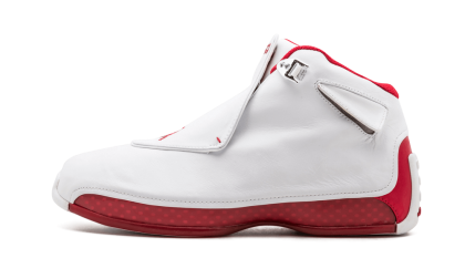 Air Jordan 18 White/Varsity Red 305869-161 Cyber Monday