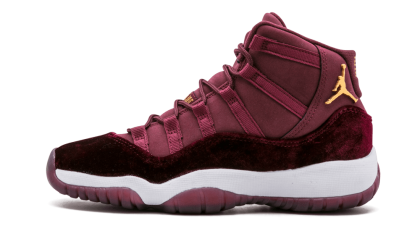 "Air Jordan 11 Retro RL WMNS ""Velvet"" Night Maroon/Metallic Gold 852625-650"