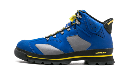 "Jordan AJB 6 ""LANEY BOOTS"" Hyper Blue/YelLow-Cool Grey 303897-401"