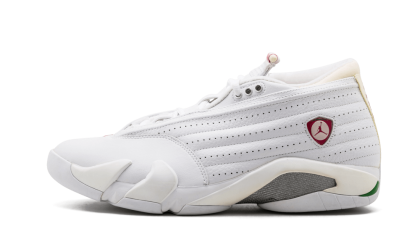 Jordan WMNS AJ 14 Retro Low White/Cerise-Classic Green 313044-161
