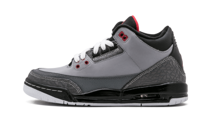 "Air Jordan 3 Retro WMNS ""Stealth"" Stealth/Varsity Red-Black 398614-003"
