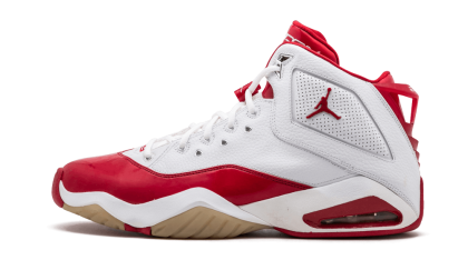 Jordan B'Loyal White/Varsity Red-Metallic Silver 315317-161