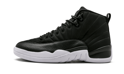 "Air Jordan 12 Retro ""PSNY FRIENDS AND FAMILY"" Black/White 572646-849 Black Friday"