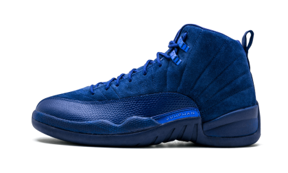 Air Jordan 12 Retro Deep Royal Blue/White 130690-400 Cyber Monday