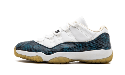 Air Jordan 11 Snake Low White/Black-Navy 136071-102 Cyber Monday