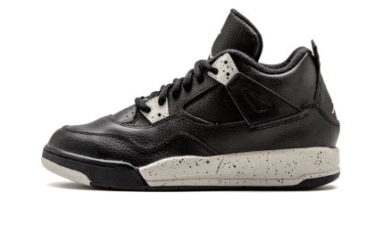 "Jordan 4 Retro LS BP ""OREOS"" Black/Grey-Black 707430-003 Cyber Monday"