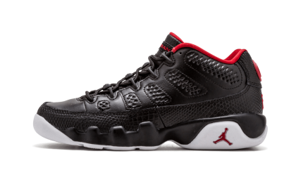 Air Jordan 9 Retro Low WMNS Black/Gym Red-White 833447-001 Cyber Monday