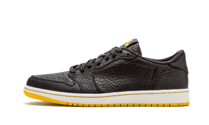 "Air Jordan 1 Retro Low NS ""Public School"" Black/Black-Amarillo 676183PROMO"