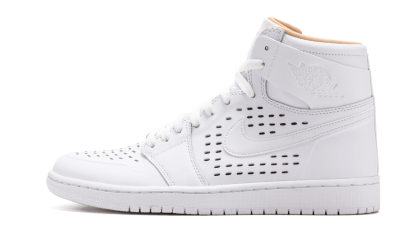Air Jordan 1 Retro High White/White-Vachetta Tan 845018-142