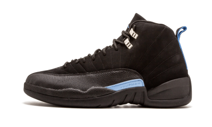 "Air Jordan 12 Retro ""MELO"" Black/White-Universtiy Blue 136001-014"