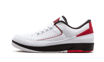 Air Jordan 2 Retro Low White/Varsity Red-Black 832819-101