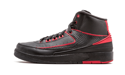 Air Jordan 2 Retro WMNS Black/Varisty Red 834276-001 Cyber Monday