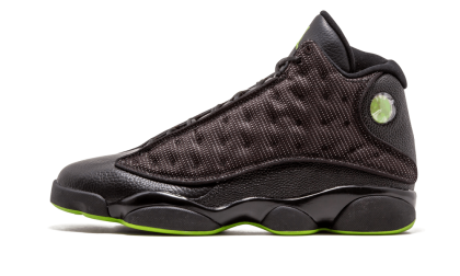 Jordan 13 Retro Black/Altitude Green 414571-002 Cyber Monday