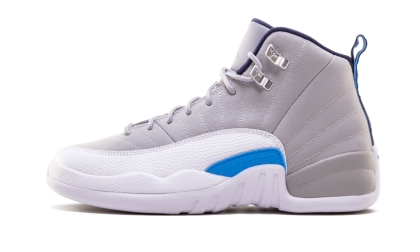 Air Jordan 12 Retro WMNS Wolf Grey/University Blue-White 153265-007