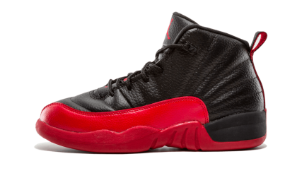 Jordan 12 Retro BP Black/Varsity Red 151186-002 Cyber Monday