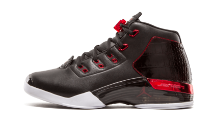 Air Jordan 17+ Retro Black/Gym Red-White 832816-001 Cyber Monday