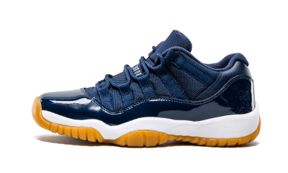 Air Jordan 11 Retro Low WMNS Navy/White-Brown 528896-405 Black Friday