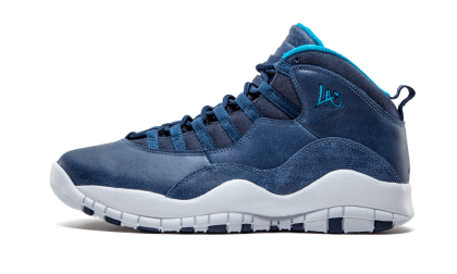 "Air Jordan Retro 10 ""City Pack - Los Angeles"" Ocean Fog/Navy-Ocean Fog 310805-404"