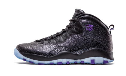 "Air Jordan Retro 10 ""Paris"" Black/Fierce Purple-Black 310805-018"