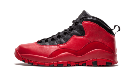 "Air Jordan 10 Retro ""PUBLIC SCHOOL PROMO"" Gym Red/Black-Wolf Grey AJ10-542509"