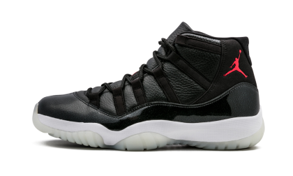 "Air Jordan 11 Retro ""72-10"" Black/Gym Red-White-Anthracite 378037-002"