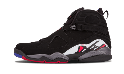"Air Jordan 8 Retro ""Playoffs"" Black/Red-White-Brght Concr 305381-061"
