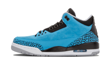 "Air Jordan 3 Retro ""Powder Blue"" Blue/White-Black-Grey 136064-406"