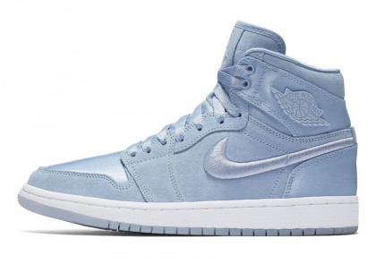 "Air Jordan 1 ""Summer of High"" Hydrogen Blue/White-Metallic Gold"