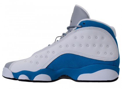 "Air Jordan 13 GS ""Italy Blue"" White/Italy Blue-Wolf Grey-Black 439358-107"