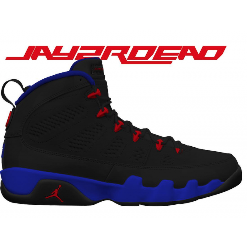 Air Jordan 9 Retro (Black/Dark Concord/University Red) 302370-065