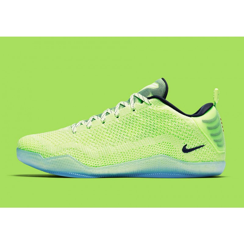 "Nike Kobe 11 ""GHOST OF CHRISTMAS PAST"" Green 824463-334"