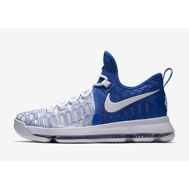 "Cyber Monday NIKE KD 9 ""HOME"" White/Blue 843392-411 Cyber Monday"