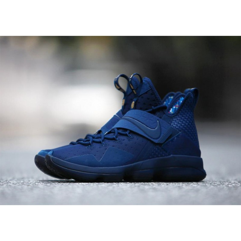 "Nike LeBron 14 ""AGIMAT"" Blue 952402-400 Black Friday"