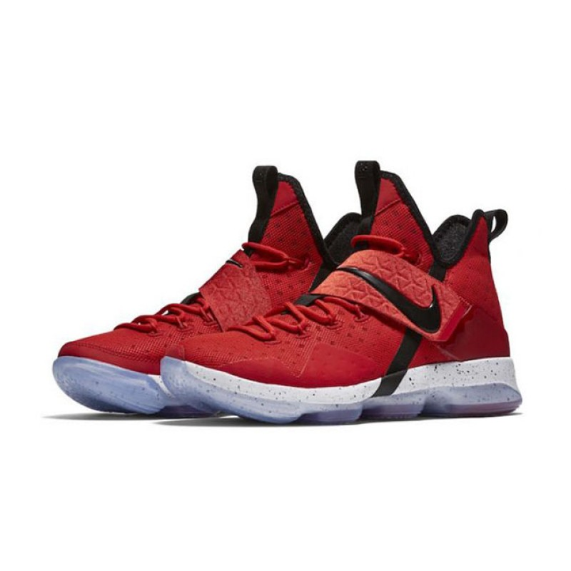 "Nike LeBron 14 ""UNIVERSITY RED"" Red 852405-600 Cyber Monday"