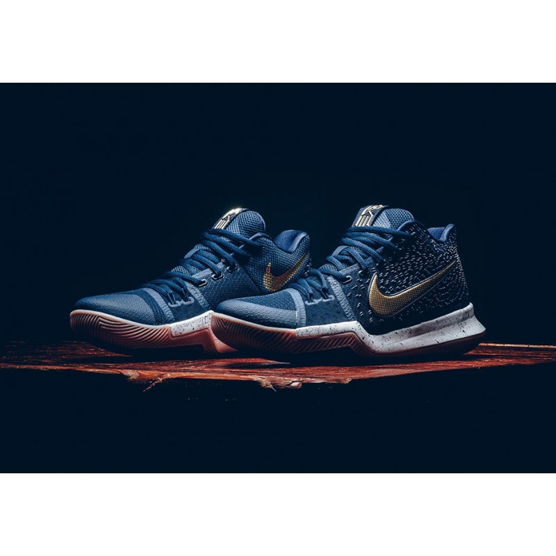 "Cyber Monday Nike Kyrie 3 ""OBSIDIAN"" Blue 852395-400"