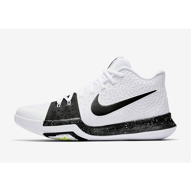 "Nike Kyrie 3 ""COOKIES AND CREAM"" White 917724-100 Cyber Monday"