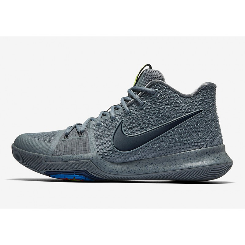 Cyber Monday Nike Kyrie 3 Grey 852395-001