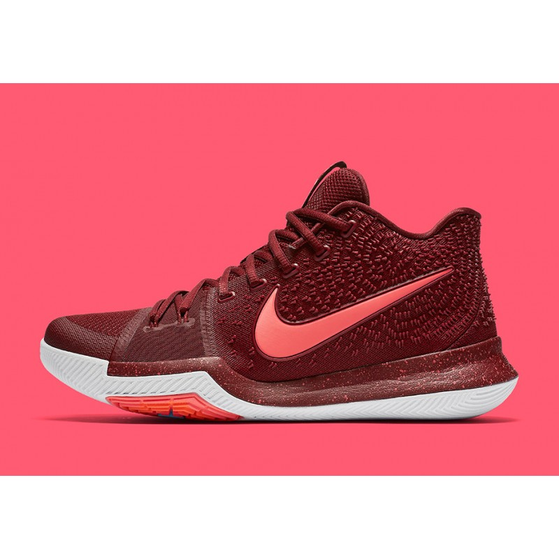 "Nike Kyrie 3 ""TEAM RED"" Red 852395-681 Black Friday"